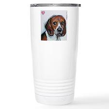Beagle love smile Travel Mug