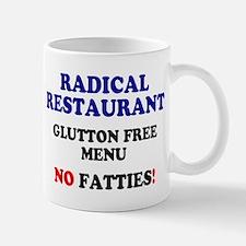 RADICAL RESTAURANT - GLUTTON FREE MENU Small Mug