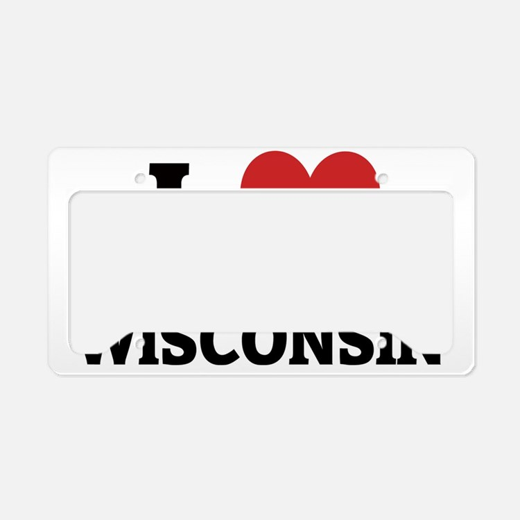 Wisconsin License Plate Holder