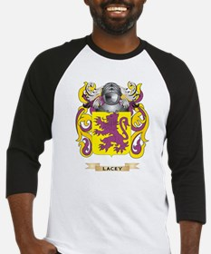 Lacey Coat of Arms - Family Crest Baseball Jersey