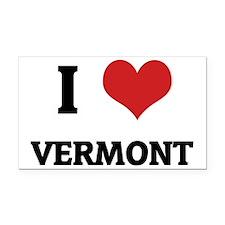 Vermont Rectangle Car Magnet
