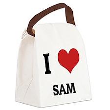 SAM Canvas Lunch Bag