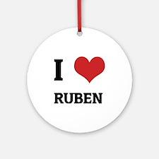 RUBEN Round Ornament