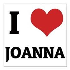 "JOANNA Square Car Magnet 3"" x 3"""