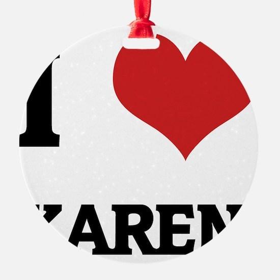 KAREN Ornament