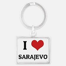 SARAJEVO Landscape Keychain