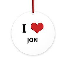 JON Round Ornament