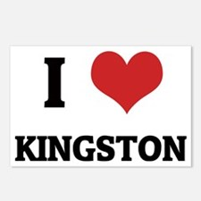 KINGSTON Postcards (Package of 8)