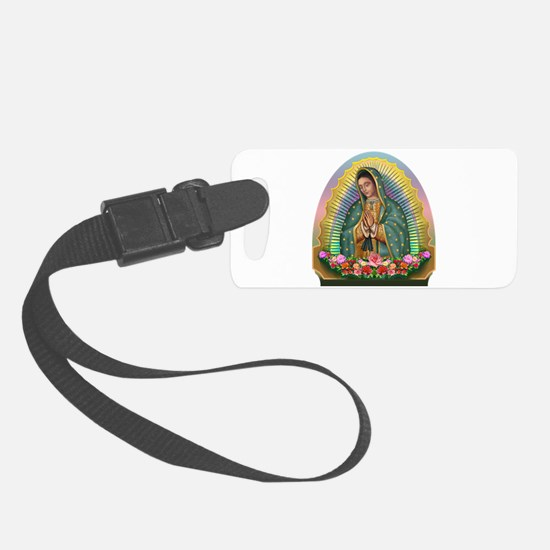 Guadalupe Yellow Aura Luggage Tag