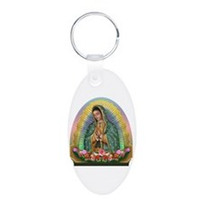 Guadalupe Yellow Aura Keychains