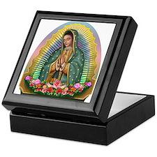 Guadalupe Yellow Aura Keepsake Box