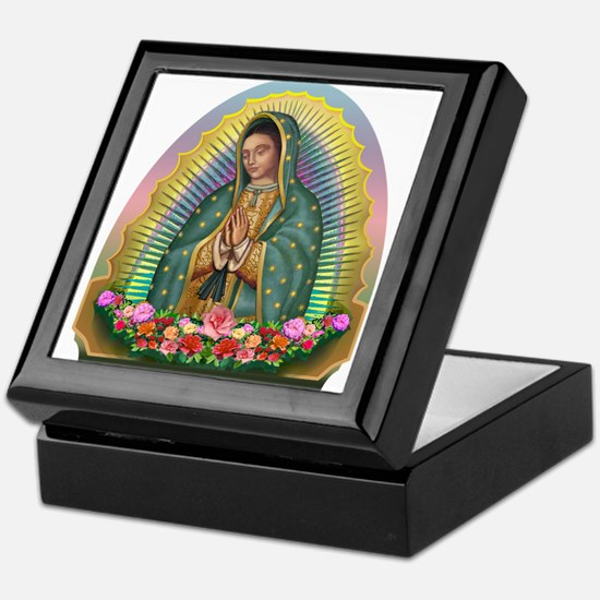 Guadalupe Yellow Aura Keepsake Box