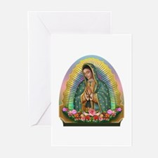 Guadalupe Yellow Aura Greeting Cards (Pk of 20)