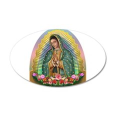 Guadalupe Yellow Aura Wall Sticker