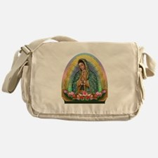 Guadalupe Yellow Aura Messenger Bag