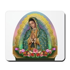 Guadalupe Yellow Aura Mousepad