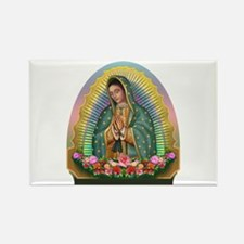 Guadalupe Yellow Aura Rectangle Magnet