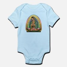 Guadalupe Yellow Aura Infant Bodysuit
