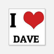 """DAVE Square Sticker 3"""" x 3"""""""