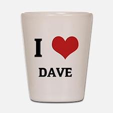 DAVE Shot Glass