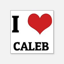 "CALEB Square Sticker 3"" x 3"""