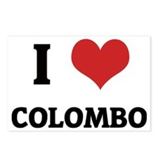 COLOMBO Postcards (Package of 8)