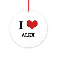 ALEX Round Ornament