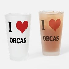 ORCAS Drinking Glass