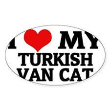 TURKISH VAN CAT Decal