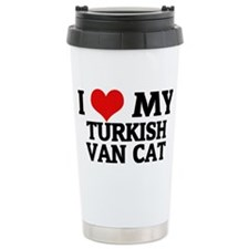 TURKISH VAN CAT Travel Mug