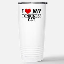 TONKINESE CAT Stainless Steel Travel Mug
