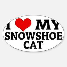 SNOWSHOE CAT Decal