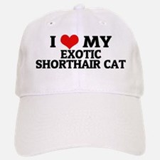 EXOTIC SHORTHAIR CAT Baseball Baseball Cap
