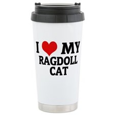 RAGDOLL CAT Travel Mug