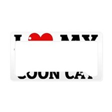 MAINE COON CAT License Plate Holder