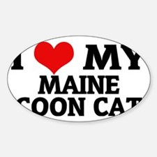 MAINE COON CAT Decal