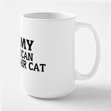 AMERICAN SHORTHAIR CAT Large Mug