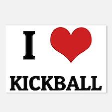 KICKBALL Postcards (Package of 8)