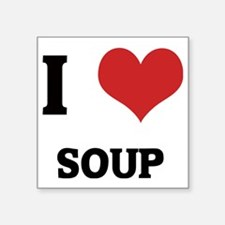 "SOUP Square Sticker 3"" x 3"""