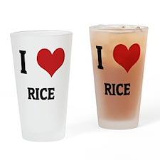 RICE Drinking Glass