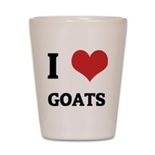 GOATS Shot Glass