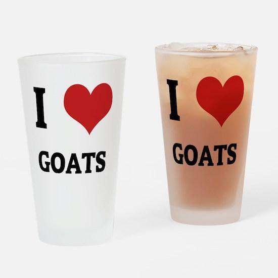 GOATS Drinking Glass