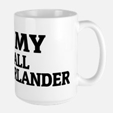SMALL MUNSTERLANDER Large Mug