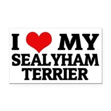 SEALYHAM TERRIER Rectangle Car Magnet