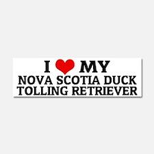 NOVA SCOTIA DUCK TOLLING RETRIEV Car Magnet 10 x 3