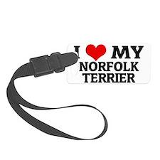 NORFOLK TERRIER Luggage Tag