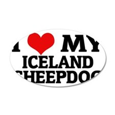 ICELAND SHEEPDOG Wall Decal