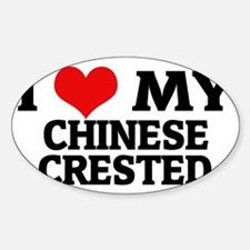 CHINESE CRESTED Decal