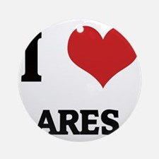 ARES1 Round Ornament
