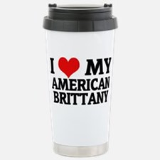 AMERICAN BRITTANY Stainless Steel Travel Mug
